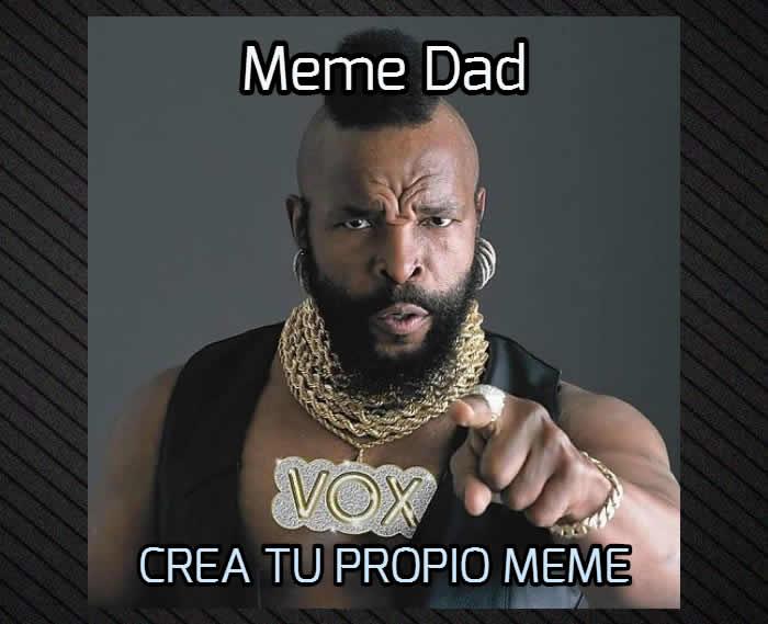 Con Meme Dad crea gratis tu meme sin marca de agua