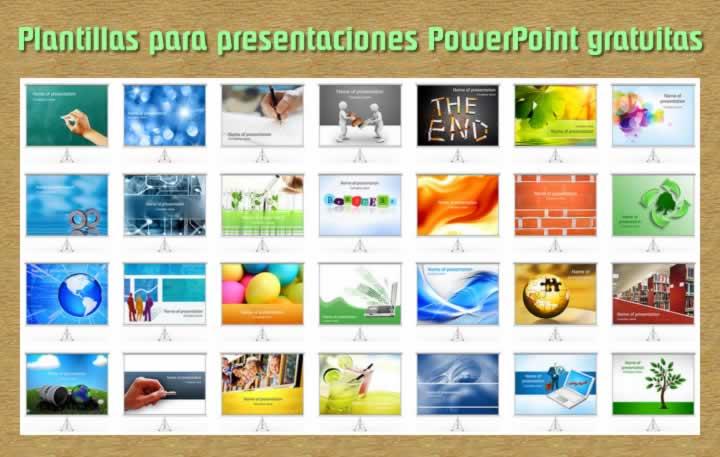 Cientos de plantillas gratuitas para PowerPoint
