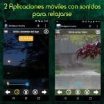 2 aplicaciones gratuitas con sonidos para relajarse