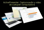 Activepresenter. Captura audio y video de cualquier computadora