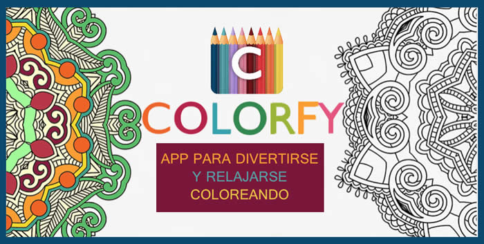 Colorfy. App para divertirse y relajarse coloreando