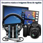Encuentra música e imágenes libres de regalías