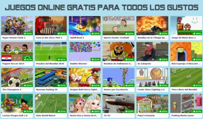 Juegos Online Gratis para todos los gustos