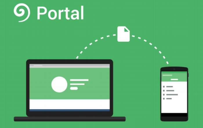 Portal. Aplicación para transferir archivos de la PC al móvil por Wi Fi