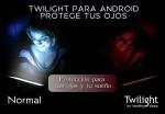 Twilight. Una aplicación de Android que cuida tus ojos y tu sueño