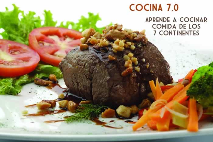 Cocina 7.0. Aprende a cocinar comida de los 7 continentes