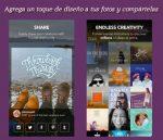 Agrega un toque de diseño a tus fotos y compártelas