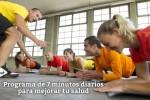 Programa de 7 minutos diarios para mejorar tu salud