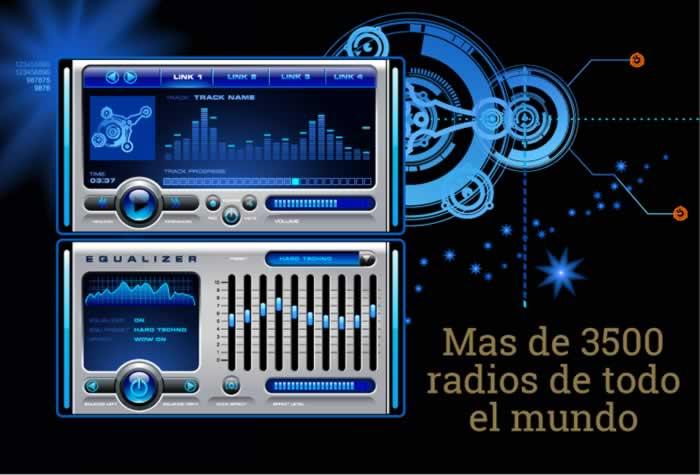 Escucha por Internet más de 3500 radios de todo el mundo