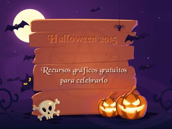 Halloween 2015. Recursos gráficos gratuitos para celebrarlo. Actualizado