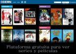 Odeón. Plataforma gratuita para ver series y películas