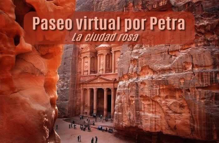 Paseo virtual por Petra, la ciudad rosa