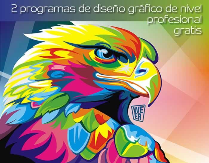 2 programas de diseño gráfico de nivel profesional gratis