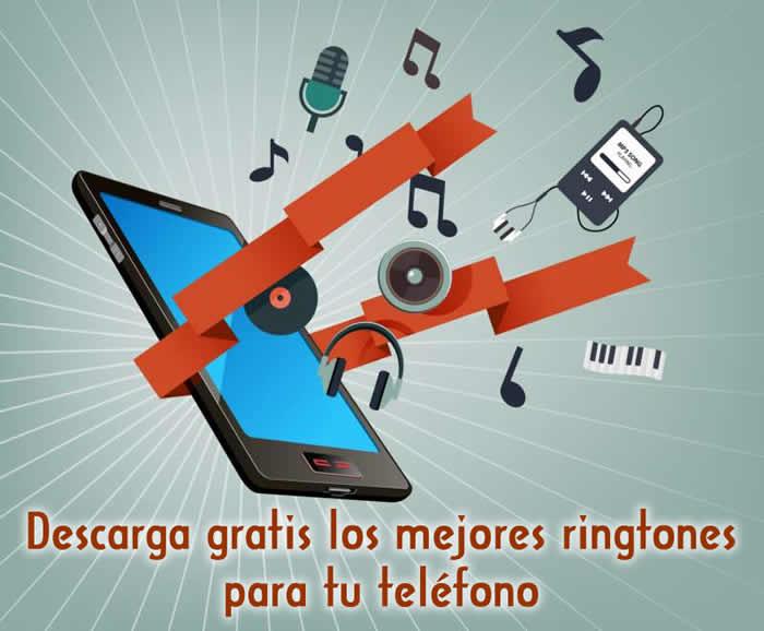 Descarga gratis los mejores ringtones para tu teléfono