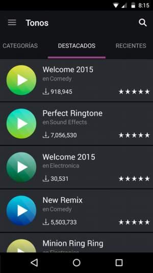 Descarga gratis los mejores ringtones para iOS y Android