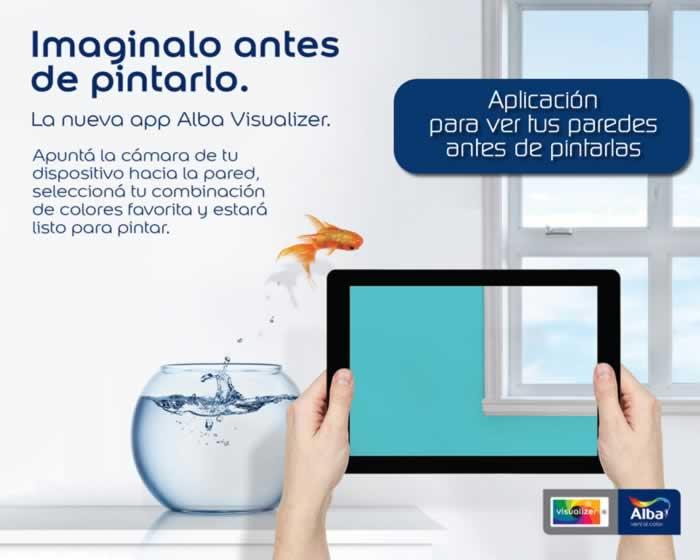 Alba Visualizer. Aplicación para ver tus paredes antes de pintarlas
