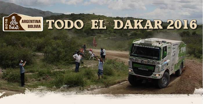 Recorre el Dakar 2016