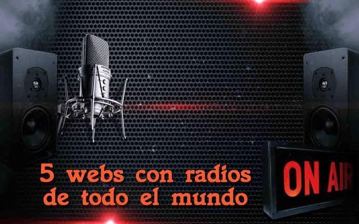5 Webs con radios de todo el mundo