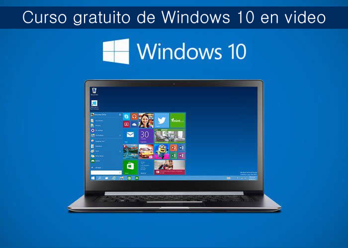 Curso gratuito de Windows 10 en video