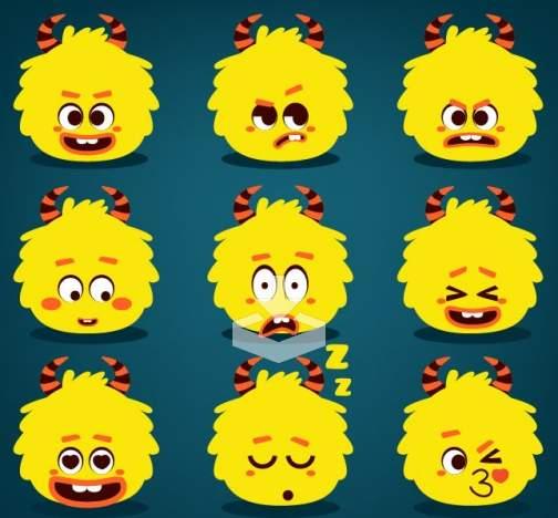 emoticones-monster
