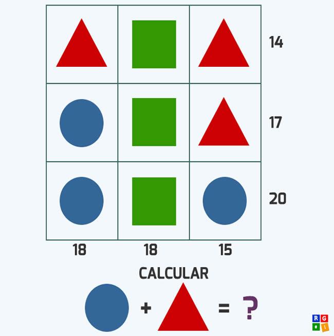 Juego de lógica con figuras