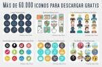 Más de 60 mil iconos para descargar gratis