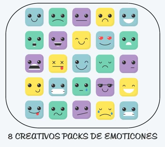 8 creativos packs de emoticones para descargar gratis