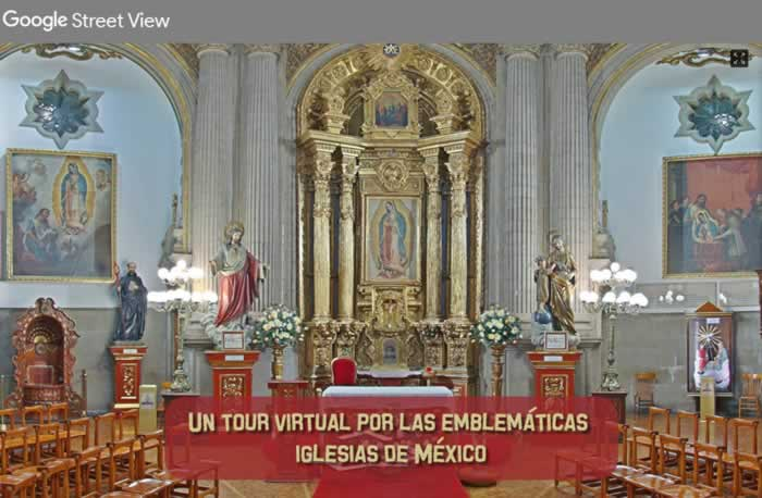 Un tour virtual por las emblemáticas iglesias de México