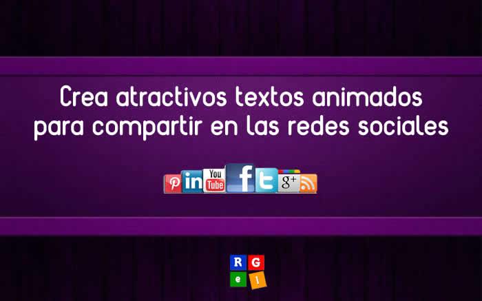 Crea atractivos textos animados con Slate