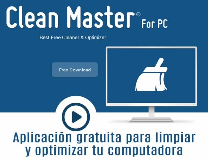 Clean Master. Limpia y optimiza tu PC