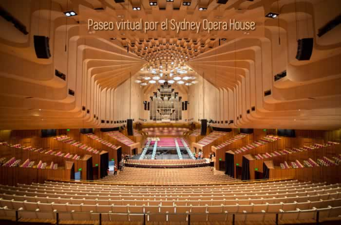 Paseo virtual por el Sydney Opera House