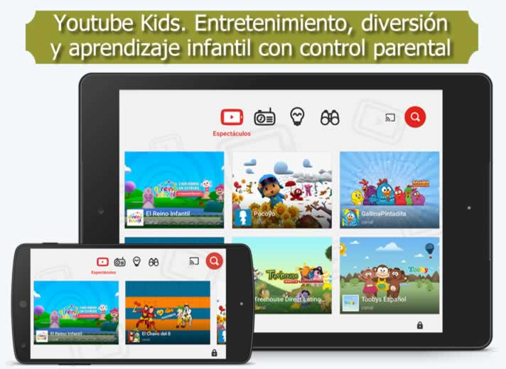 youtube kids entretenimiento diversi n y aprendizaje. Black Bedroom Furniture Sets. Home Design Ideas