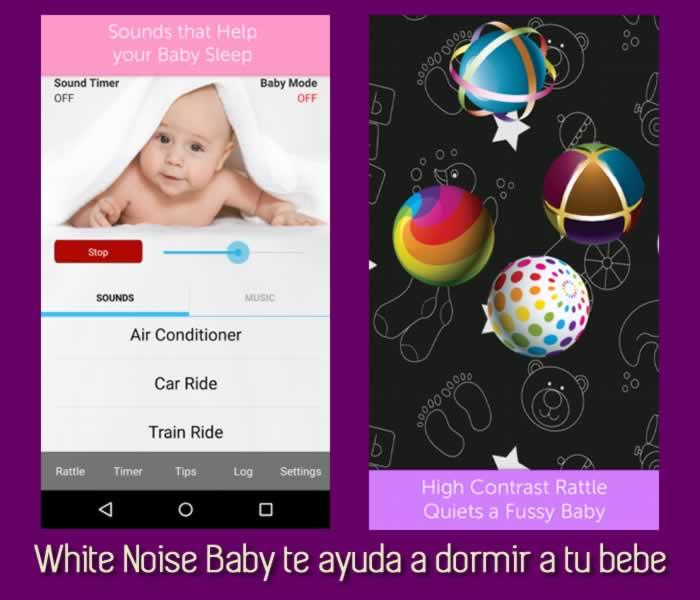 White Noise Baby te ayuda a dormir a tu bebe