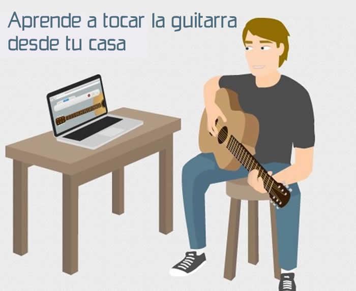 Aprende gratis a tocar la guitarra desde tu casa