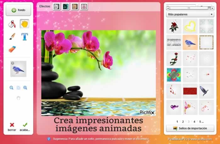 PicMix. Crea y comparte divertidas imágenes animadas