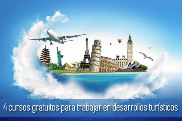 4 cursos gratuitos para aprender y trabajar en desarrollos turísticos