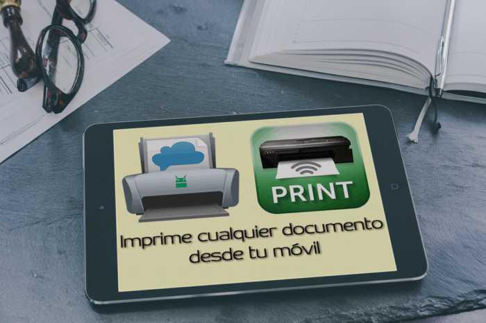 ¿Cómo imprimir cualquier documento desde tu móvil?