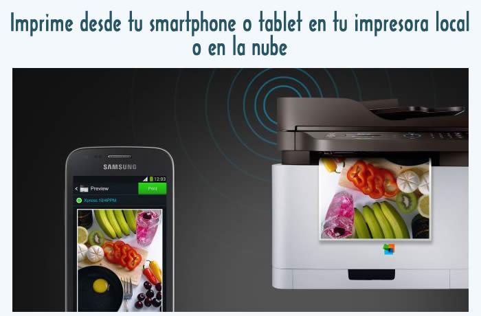 Cómo Imprimir desde tu smartphone o tablet en tu impresora local o en la nube
