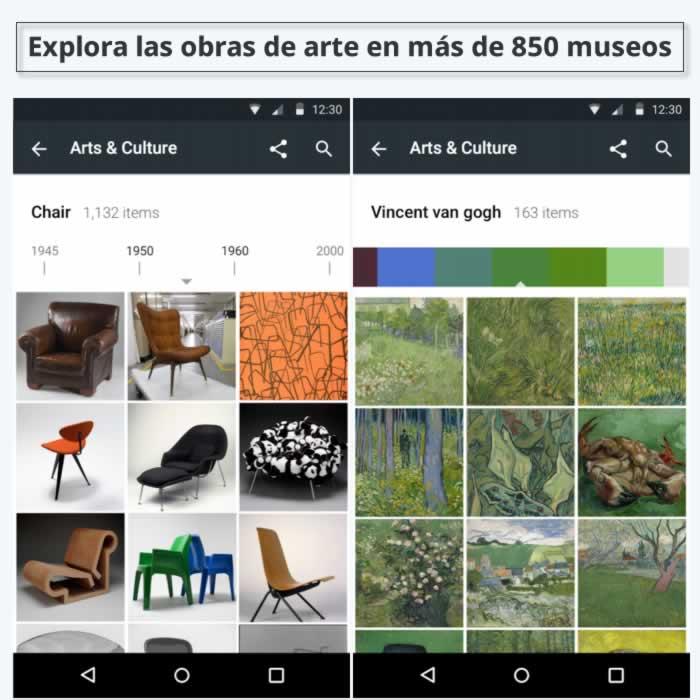 Explora con tu móvil las obras de arte en más de 850 museos