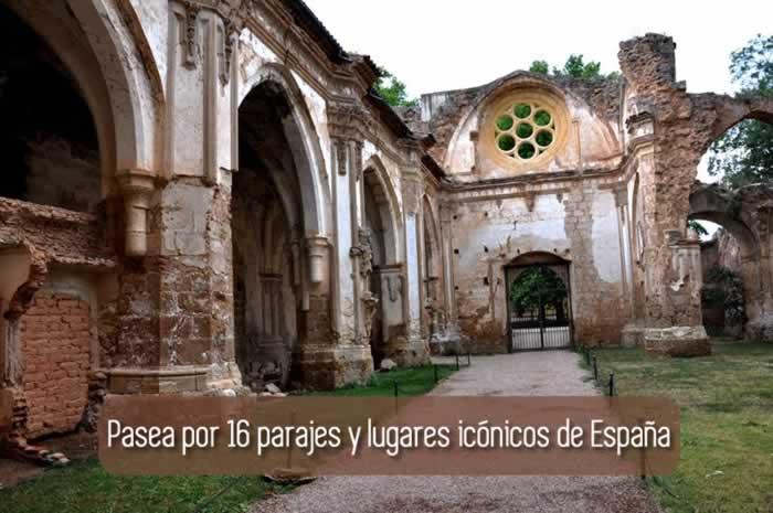 Pasea por 16 parajes y lugares icónicos de España
