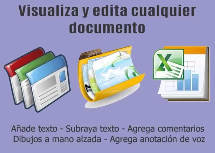 Kami. Aplicación gratuita para visualizar cualquier tipo de documento