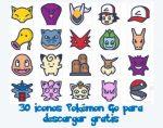 30 coloridos iconos Pokémon Go para descargar gratis