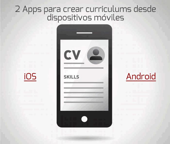 2 Apps para crear currículums desde dispositivos móviles