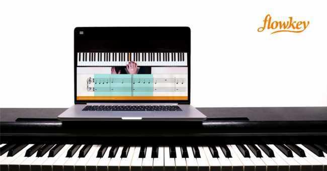 Flowkey. Aprender a tocar el piano