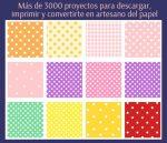 Más de 3000 proyectos para descargar, imprimir y convertirte en artesano del papel