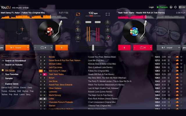 You DJ. Conviértete en DJ y empieza a mezclar música
