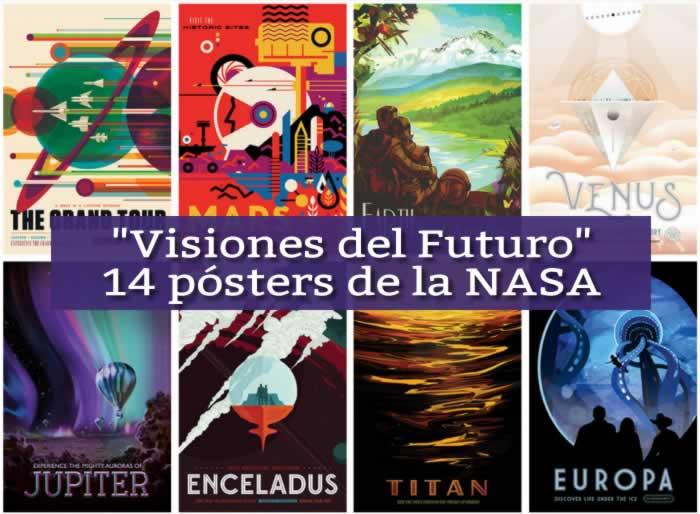 Visiones del futuro. 14 Pósters de la NASA