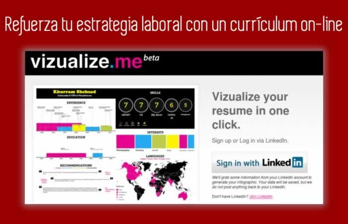 Refuerza tu estrategia laboral con un curriculum on-line