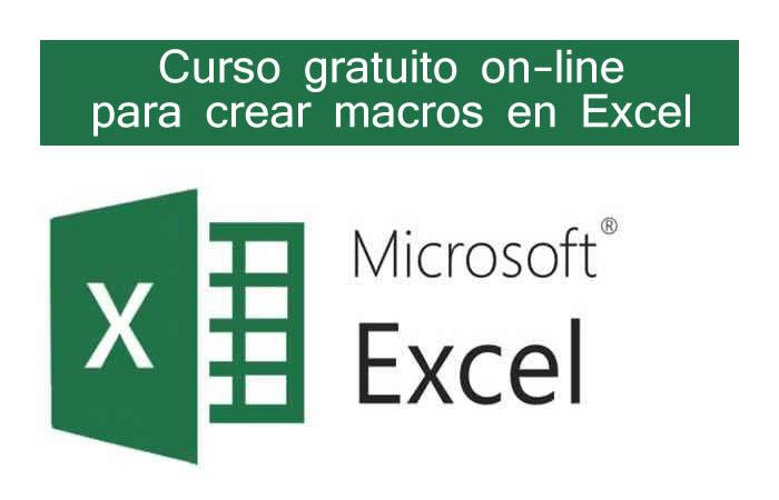 Curso gratuito on-line para aprender a crear macros en Excel