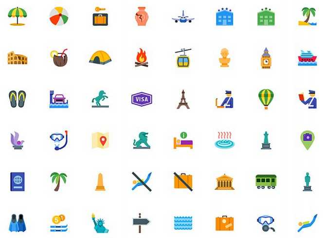 pack-iconos-viajes-y-turismo
